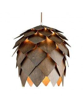 Marvelous Crimean Pinecone Suspension Lamp D40 Photo