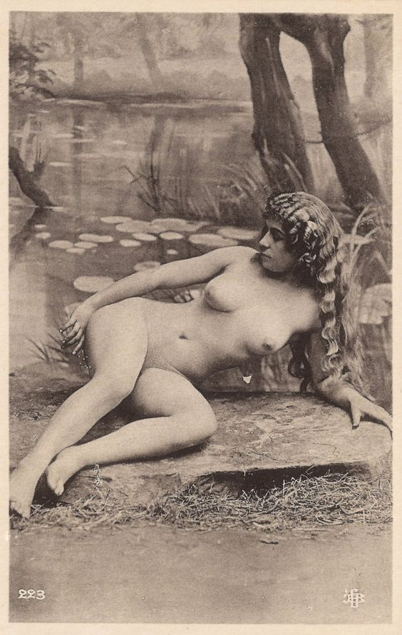 Nude girl post cards