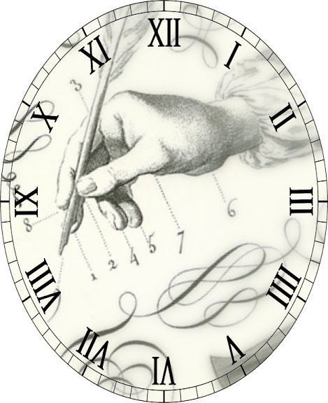 Best Diy And Crafts Clock Faces Images On   Vintage