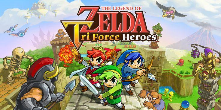 The Legend of Zelda Triforce Heroes auf Berlin-Curves.com  #nintendo #new3ds #Zelda #ZeldaTriforceHeroes