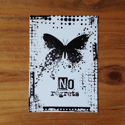 Die schlichte Karte: Visible Image, Butterfly Inkognito