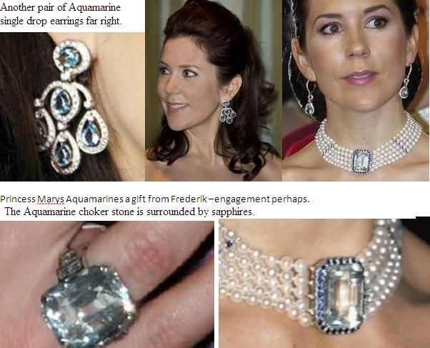 Crown Princess Mary's Aquamarine set