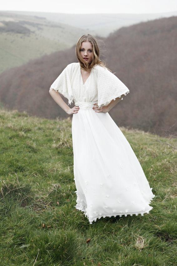 Кэжуал + бохо? Да! Свадебные платья от Minna