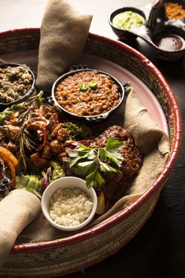 Simba: Ethiopian restaurant with GF and vegan options on the menu.