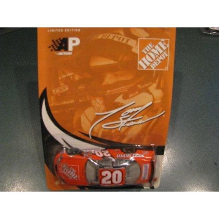 2003 Tony Stewart #20 Home Depot Monte Carlo Paint Scheme 1/64 Scale Diecast Car Action Performance ARC  Features : 2003 Tony Stewart #20 Home Depot Monte Carlo Paint Scheme 1/64 Scale Diecast Car Hood Opens Limited Edition Action Racing Collectables ARC *Hood and Trunk DO NOT open