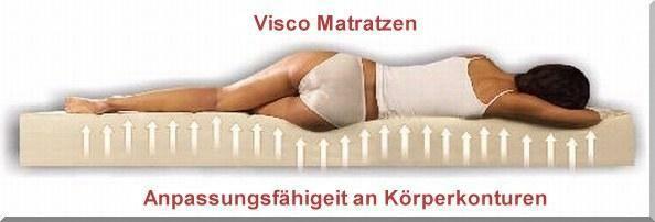 Bei Betten-Direct sind wir auf den verkauf von hochwertigen Visco Matratzen spezialisiert, die umweltfreundlich und gesundheitsbewusst hergestellt sind. Wir glauben, dass die deutsche Visco Matratzenhersteller verpflichtet sind, umweltfreundliche Matratzen aus Viscoschaum zu produzieren. Unsere Visco-Schaummatratzen haben Milionen von Speicherzellen und sind atmungsaktiver als herkömmliche Schaummatratzen.