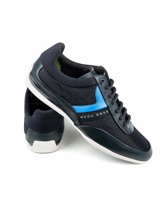 Zapatos Hugo Boss Space Lowp - Azul