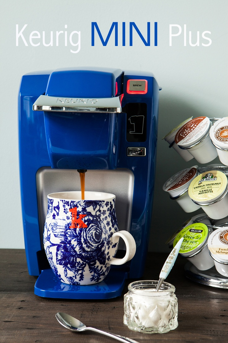 Some kind of Keurig or individual brewer that uses K-cups or something like it, no one else drinks it besides me!