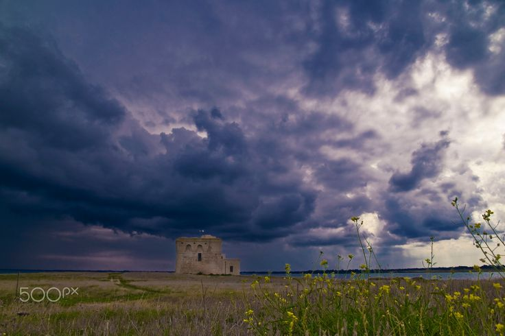 Torre Guaceto - Torre Guaceto, waiting for the storm