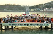 Each year, from March 1-7, Parmarth Niketan Ashram, Rishikesh (Himalayas), India, hosts the International Yoga Festival with world renowned yogacharyas, teaching extraordinary range of lineages.
