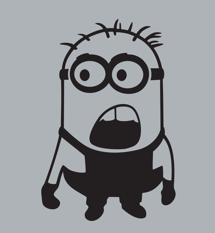 It's just a picture of Decisive Minion Pumpkin Stencil Printable