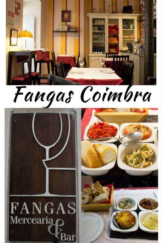 O Fangas é um local delicioso e relativamente econômico para comer petisco a bom preço no meio das ruazinhas sinuosas do centro de Coimbra. Aconselho!