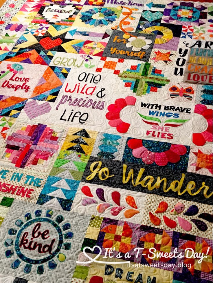 Dear Daughter Quilt by Rebecca Mae Designs