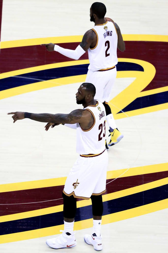 NBA Finals Archive, LeBron and Kyrie 2017 NBA Finals