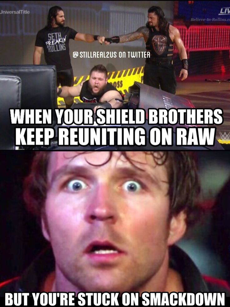If anybody needs to be traded to Raw it's Dean Ambrose