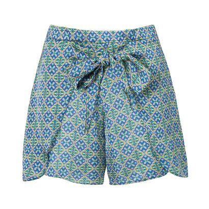 CORPOREUM - Short comfort pareo Corporeum - azul - OQVestir