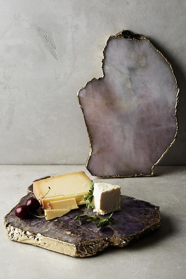 Slide View: 3: Agate Cheese Board