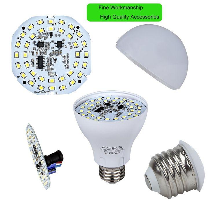 Mejores 15 imgenes de motion sensor light bulb en pinterest motion sensor light bulb 7w60w equivalent radar smart bulb dusk to dawn led aloadofball Choice Image