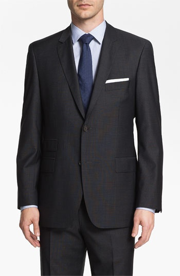 BOSS Black 'Edison/Power' Wool Suit available at #Nordstrom