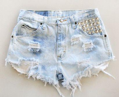 shorts customizado rasgadinho