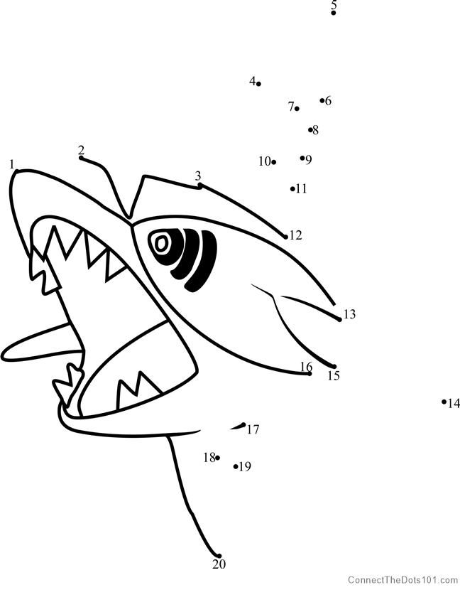 Pokemon Sharpedo Dot To Dot Pokemon Coloring Pages Printable Coloring Pages
