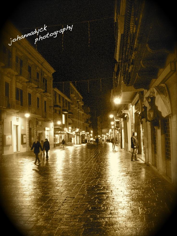 Ortona, Italy - I will go here some day in honor of Roscoe Brunetti (aka Roscoe Brunett).