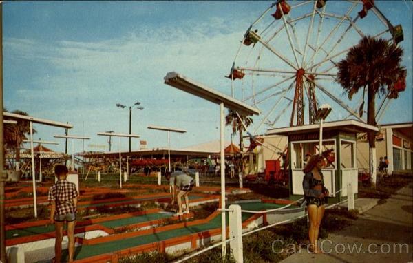 The old Folly Beach Amusement Park