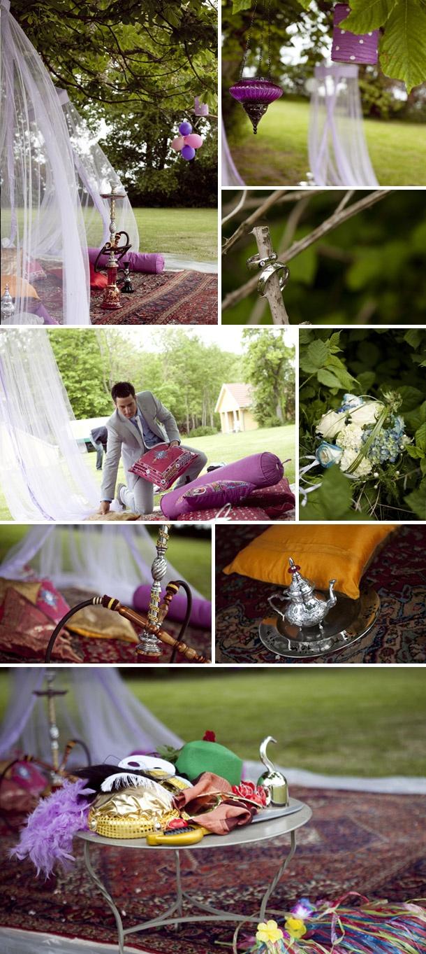 shisha wedding proposal