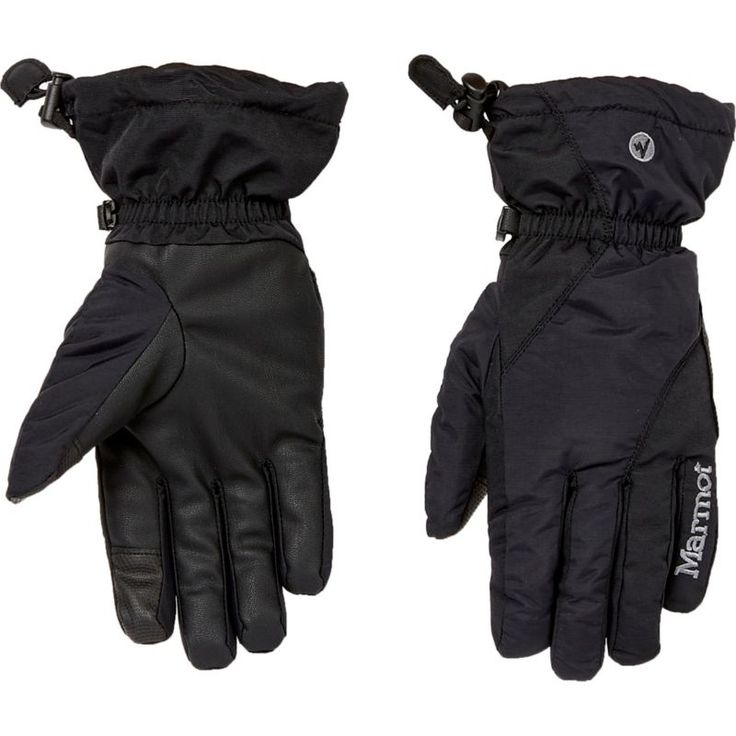 Marmot Women's Connect On Piste Insulated Gloves, Black