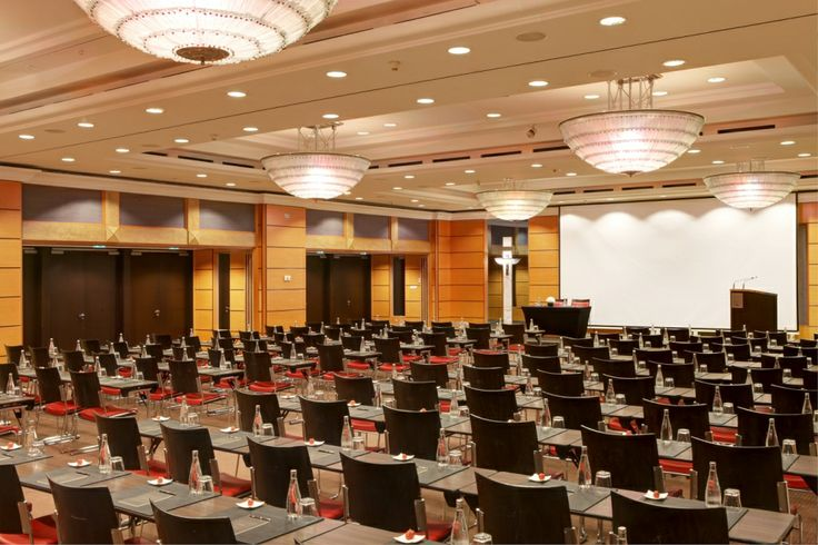 Meeting at the Ballroom of Sofitel Budapest Chain Bridge.
