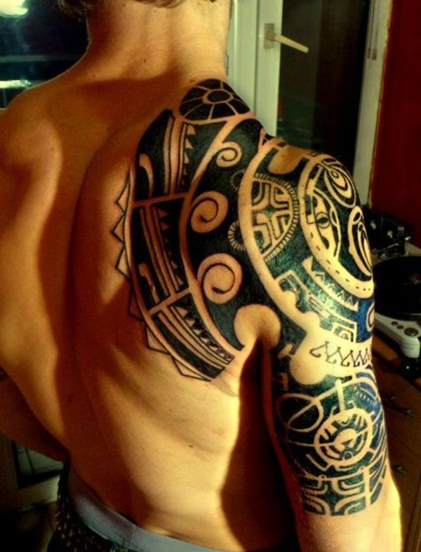 40 Amazingly Designed Marquesan Tattoo Patterns | http://www.barneyfrank.net/amazingly-designed-marquesan-tattoo-patterns/