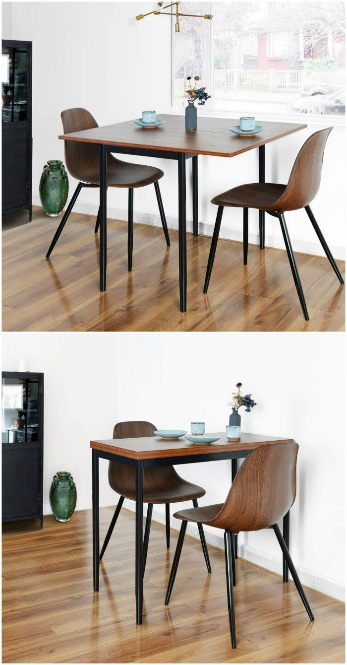 12 Brilliant Dining Table Ideas For Your Small Space Living In A Shoebox Kitchen Table Settings Space Saving Kitchen Table Dining Room Small
