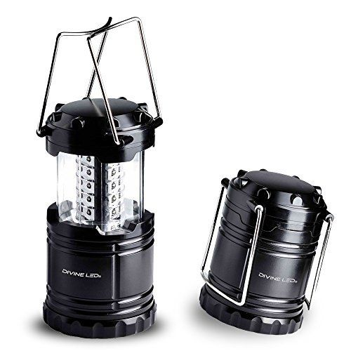 Ultra Bright LED Lantern - Camping Lantern - for Hiking, Emergencies, Hurricanes, Outages, Storms, Camping - Multi Purpose - Black - Divine LEDs - http://www.the-solar-shop.com/ultra-bright-led-lantern-camping-lantern-for-hiking-emergencies-hurricanes-outages-storms-camping-multi-purpose-black-divine-leds/