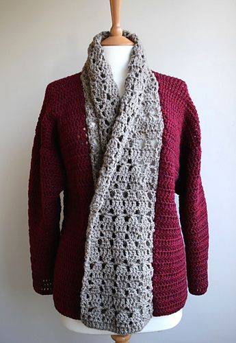 Ravelry: Comfy Fall Sweater 222 pattern by Luz Mendoza