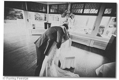Pimp je bruidsfoto's, vintage