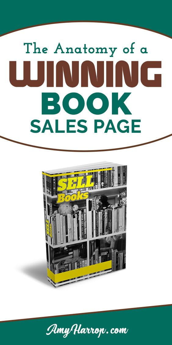 The Anatomy of a Winning Book Sales Page | Tips for Online Business