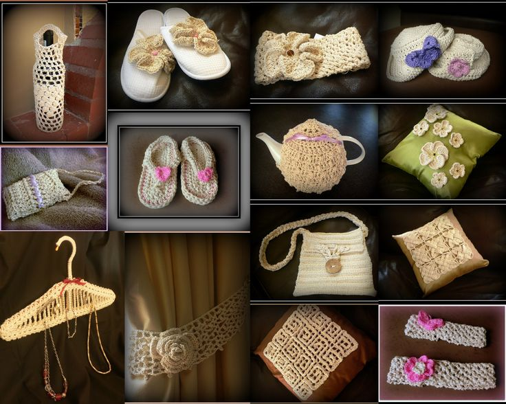 Beautiful crochet products to buy!