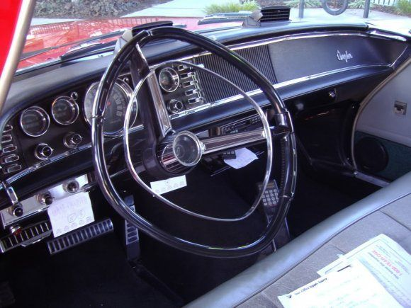 1963 Chrysler New Yorker Square Steering Wheel My Parents Car