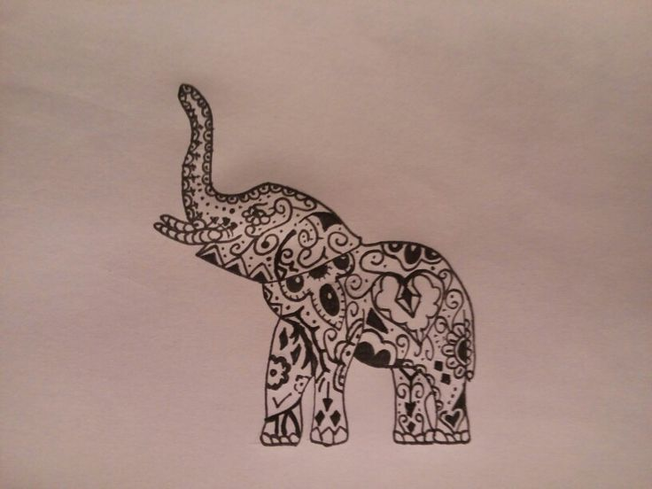 Elefante tribal                                                                                                                                                                                 More