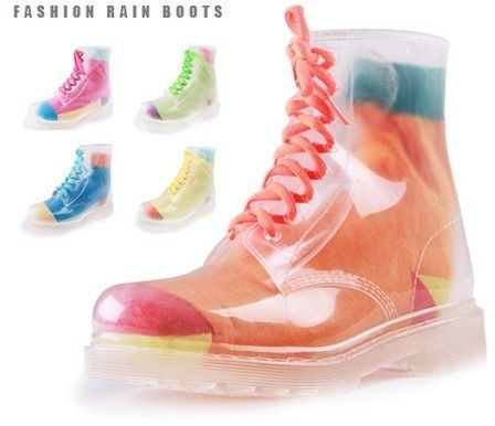 Transparent Rain Boots, $34 | This Wholesale Fashion Site Could Be The Answer To Your Wardrobe Needs