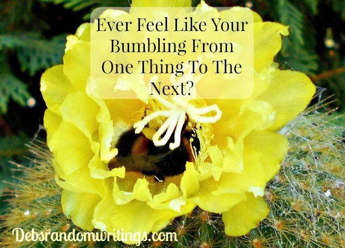 That Bumbling Feeling