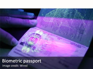 The biometric passports used to catch terrorists and the like may make foreign spying harder.