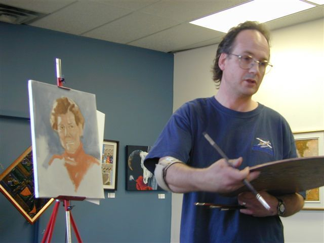 Painting Portraits 101: Part 2 - Start to Finish