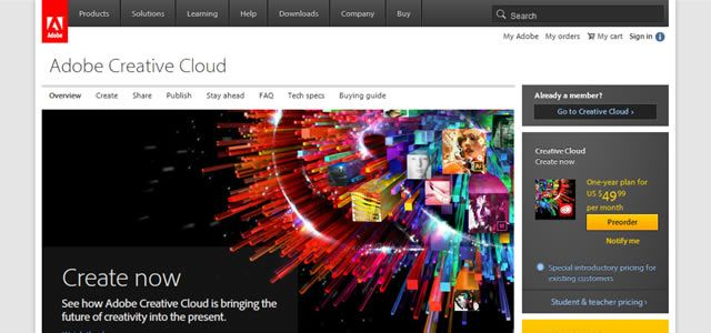CS6 and the new Creative Cloud: Creative Cloud