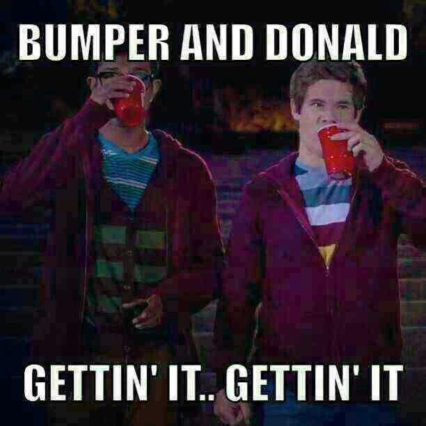 #PitchPerfect - Bumper & Donald