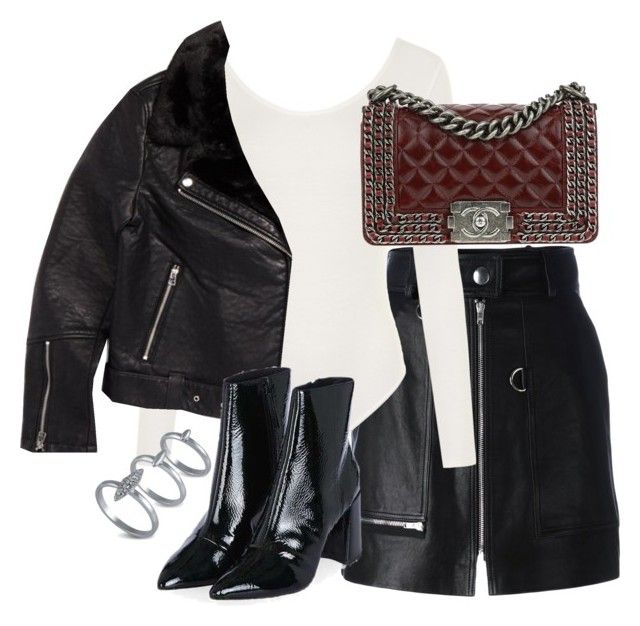 """""""Untitled #3280"""" by theeuropeancloset on Polyvore featuring Isabel Marant, WearAll, Topshop, Chanel and French Connection"""