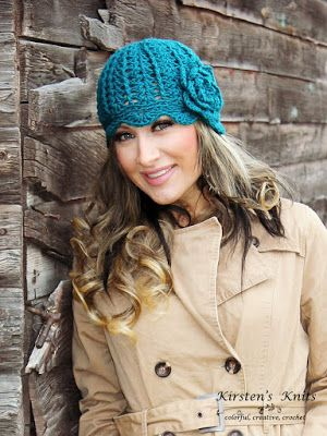 Kirstens Knits:FREE Crochet Pattern - Cover Story Cloche (A Remix of the Newsboy Slouch hat by Cre8tion Crochet)