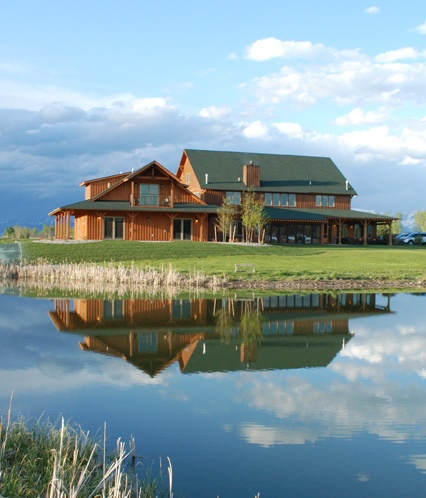 The Gallatin River Lodge is a secluded, boutique luxury Bozeman hotel, Montana fly fishing lodge, and fine dining facility, located on a 300 acre ranch just west of Bozeman, Montana.