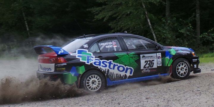 Rifat Sungkar Posisi 5 Besar New England Forest Rally (Day 1)