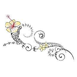 Tatuaggio di Spirito Aloha, Hawaii tattoo - royalty-free designs on TattooTribes.com